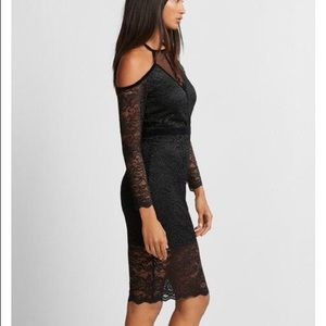 Lace dress. One time wear.